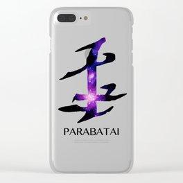 Parabatai Galaxy Clear iPhone Case