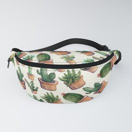 Wave Cactus Fanny Pack