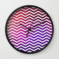 royal Wall Clocks featuring ROYAL  by Monika Strigel
