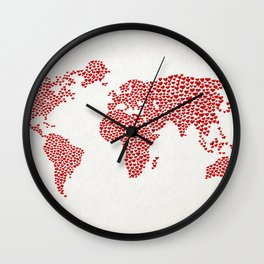 Love, You Are My World Wall Clock