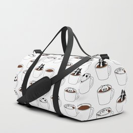 More Coffee French Bulldog Duffle Bag