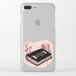my favorite book Clear iPhone Case