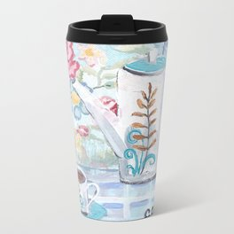 Coffee Chat Metal Travel Mug