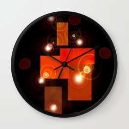 brighten my nite Wall Clock