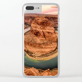 Horseshoe Bend Clear iPhone Case