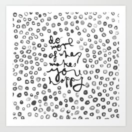 Happy Spots Art Print