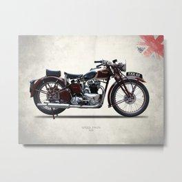 The 1939 Speed Twin Metal Print