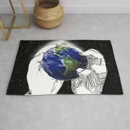 The World Is What You Make It Rug