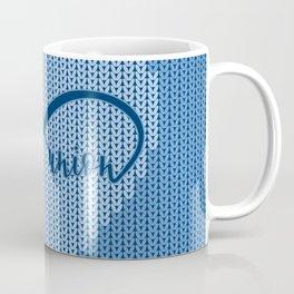 Blue Infinity Happy Union Coffee Mug