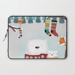 Christmas time Laptop Sleeve
