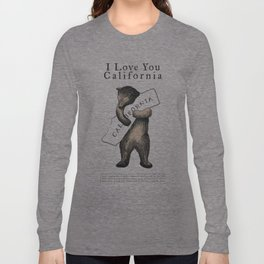 i love you california Long Sleeve T-shirt