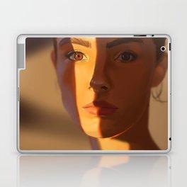 Orange Stripe Laptop & iPad Skin