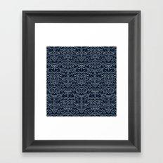 Wave of Cats Framed Art Print