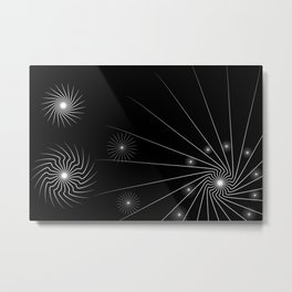 black and white (I) Metal Print