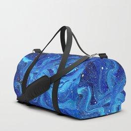 Galaxy Painting Acrylic Galaxy Art Duffle Bag