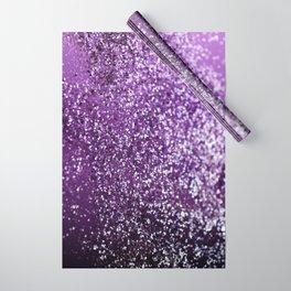 Purple Glitter #1 #decor #art #society6 Wrapping Paper