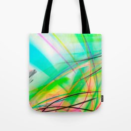 Coloful Troical Abstract - Tropica 01 Tote Bag