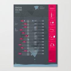 Bureau Oberhaeuser Calendar 2014 dark Canvas Print