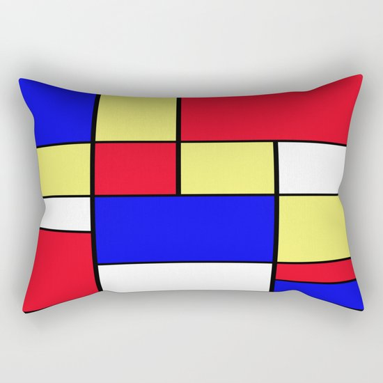 Abstract #412 Rectangular Pillow