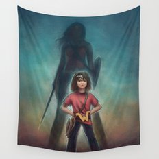 She's Got Your Back Wall Tapestry