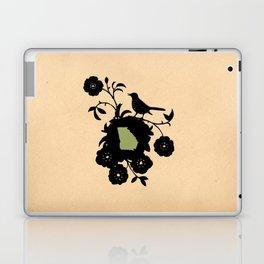 Georgia - State Papercut Print Laptop & iPad Skin