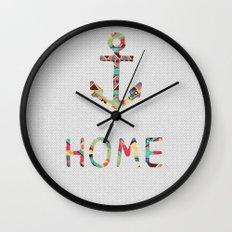 you make me home Wall Clock
