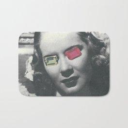 Psychedelic glasses II Bath Mat
