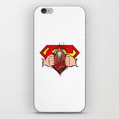 Double Superhero iPhone Skin