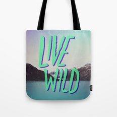 Live Wild: Alaska Tote Bag