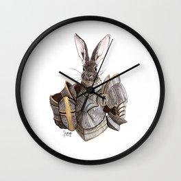 Carrot Knight Wall Clock