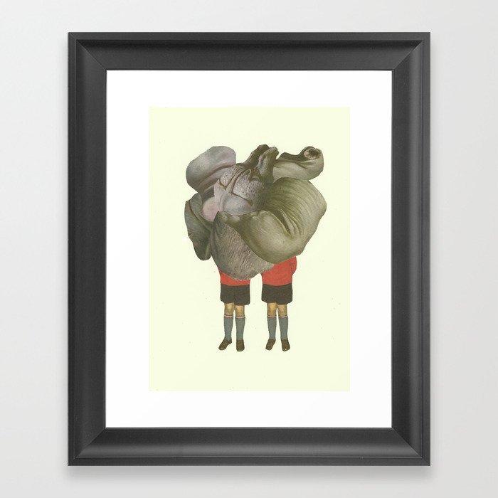 MEUS GEMINUS Framed Art Print