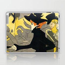 Toulouse Lautrec Divan Japonais music hall Laptop & iPad Skin
