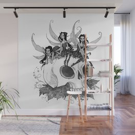Inktober Creature Feature Wall Mural