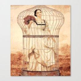 Captive Beauty Canvas Print