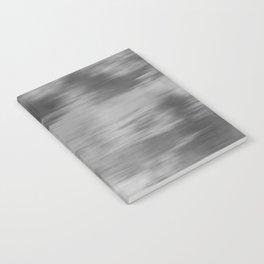 Smokey Mist (Gray) Illustration, Digital Watercolor Camo Blend - Fluid Art Notebook