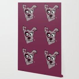 Bandit - berry Wallpaper