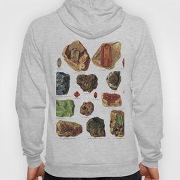 Vintage Gems And Minerals Hoody