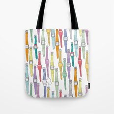 80s Digital Watches Tote Bag