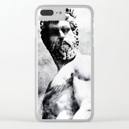 In the Wake of Poseidon Clear iPhone Case