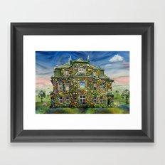 The Flowerhouse Framed Art Print