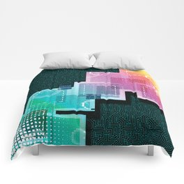 Abstract Tech Comforters