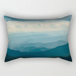 Autumn Day Sweeping Mountain Views Rectangular Pillow