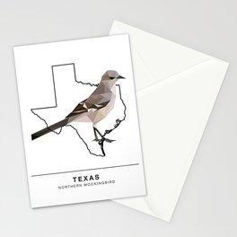 Texas – Northern Mockingbird Stationery Cards