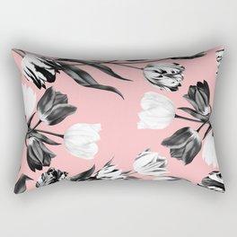 Bed Of Tulips Rectangular Pillow