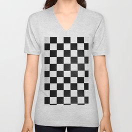 Dirty checkers Unisex V-Neck