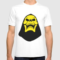 Skeletor. Mens Fitted Tee White LARGE
