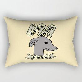 Greyhound Crew Rectangular Pillow