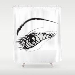 Aeon Flux Shower Curtain
