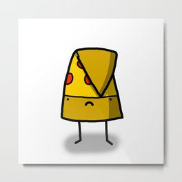 The Saddest Slice | Veronica Nagorny Metal Print
