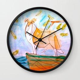 Collie2 Wall Clock